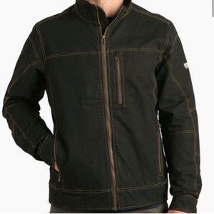 Kuhl burr vintage patina dye jacket men's size small